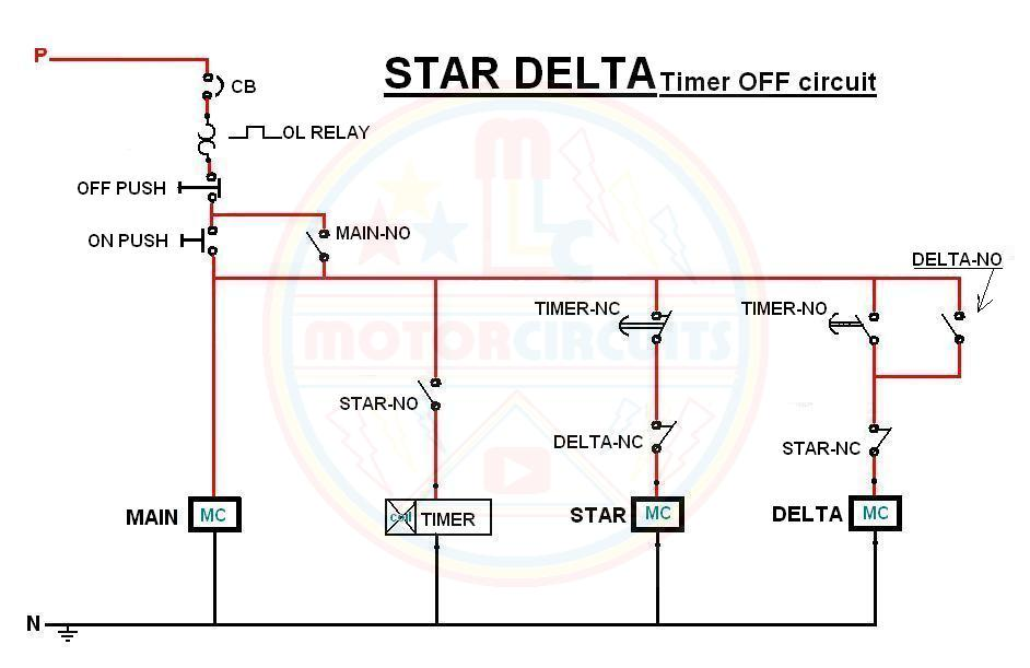 star%2Bdelta%2Btimer%2Boff%2Bdiagram  Phase Motor Wiring Diagram Star Delta on delta 3 phase bank diagram, delta connection diagram, 3 phase 3 wire delta, 3 phase motor control diagrams, 3 phase motor star delta connection,