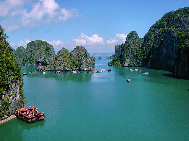 Halong Bay Backpackers Delight:  Vietnam, Cambodia and Laos