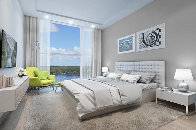Phòng ngủ Master Vinhomes Skylake