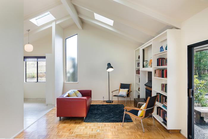 salón acogedor-Preparando la casa para el otoño