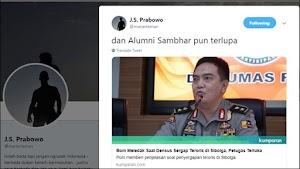 JS Prabowo: Dan Alumni Sambhar pun Terlupa