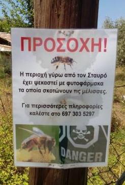 Σημερινή φωτογραφία από την Θάσο: Κινδυνεύουν οι μέλισσες από φυτοφάρμακα λέει!!!
