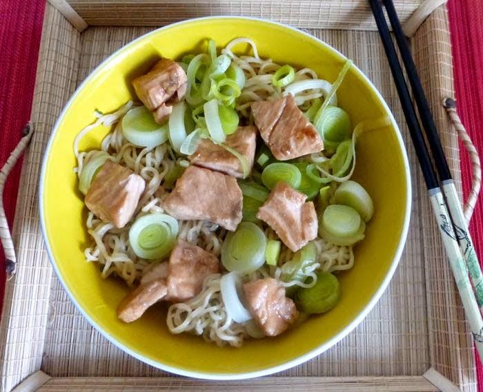 recette de nouilles soba sautées