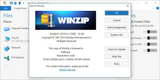 WinZip 20.0 Build 11659 Pro Setup + Pro Serial Key Full Version Free Download nkworld4u http://nkworld4u.blogspot.in/
