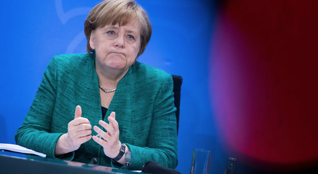 Angela Merkel's political near-death experience in Bavarian brawl: Fight over migration risks toppling chancellor's alliance — and her government