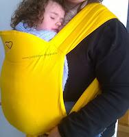 maxi-taï 2.0 sunflower bretelles rembourrées mixtes portage Ling ling d'amour bambins déployables