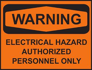 electrical hazard artinya