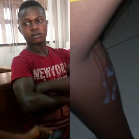 Must Read: A Young man  Masturbates And Ejaculates On A  Female Bank Customer At Nnewi