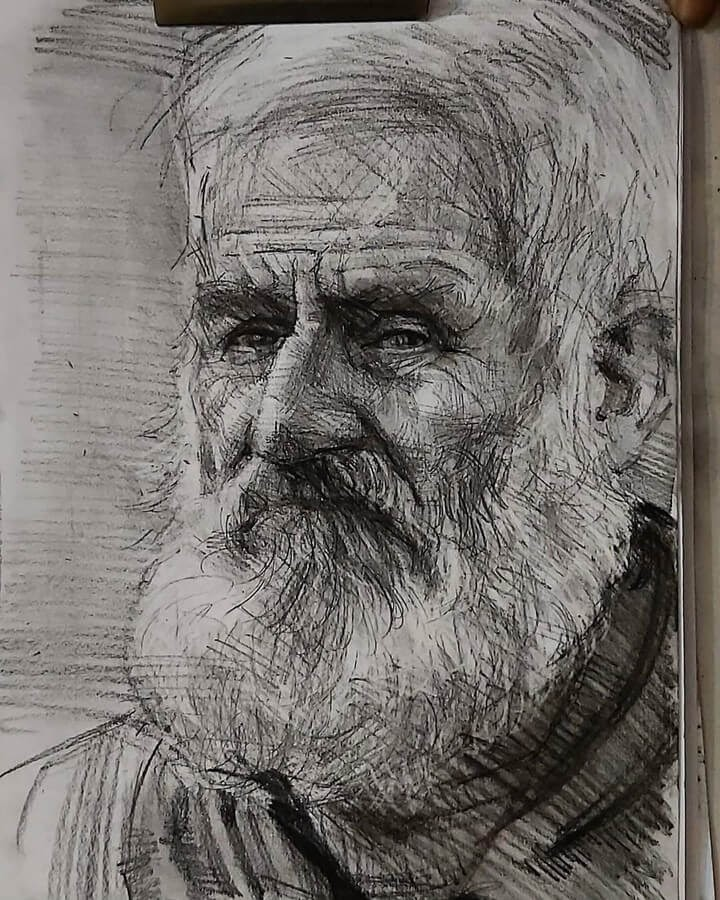 02-Pencil-and-Charcoal-Soroush-Jahdi-Sketch-Portraits-www-designstack-co