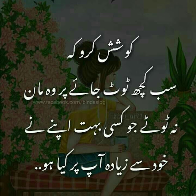 Best Life Quotes in Urdu - Koshish kero k