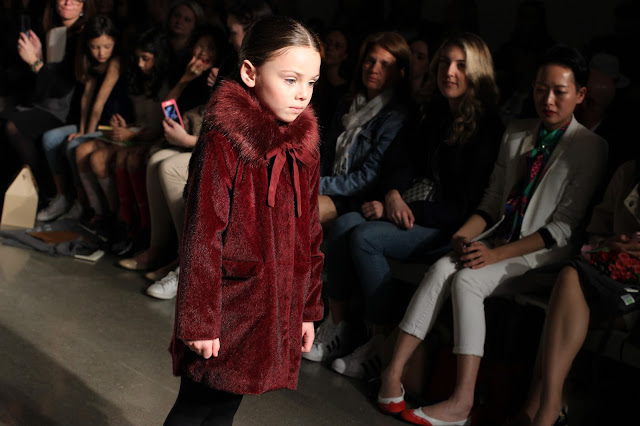 Burgundy Coat & Fur Collar | Imoga | Petite Parade | Chichi Mary