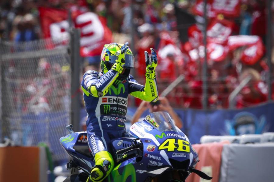 MotoGP 2016 Barcelona-Catalunya Spain Rossi Race Winning
