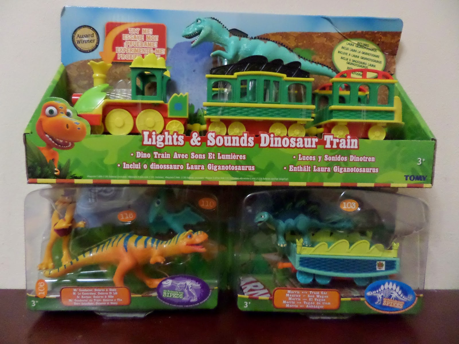 Where Roots And Wings Entwine: TOMY Dinosaur Train Lights ...