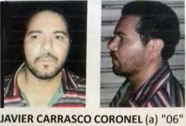 """FOTOGALERÍA ; ASÍ FUE LA CAÍDA DE """"EL 06"""" SOBRINO DE NACHO CORONEL"""