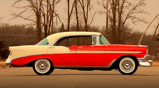 1956 Chevrolet Bel Air 4-Door Side Right