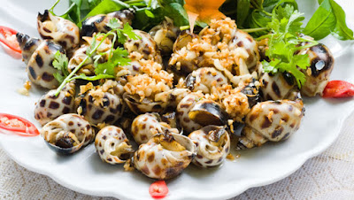 Fried Sea Snails in Halong