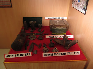 """Manoj Pandey War Gallery"" in Kargil Museum"