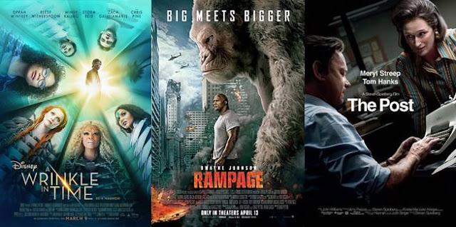 rekomendasi film hollywood terbaik 2018, film barat terbaru 2018 yang bagus