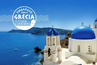 Promoção Embarque Para a Grécia Com Casa e Conforto!