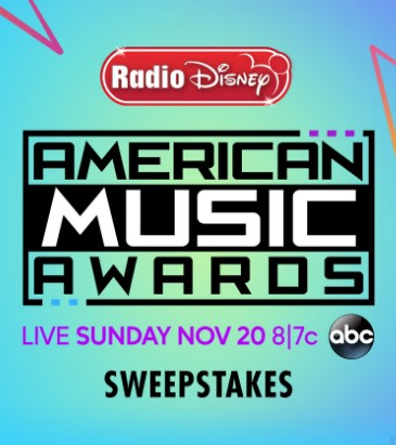 Radio Disney is sending one lucky winner and three of their friends to Los Angeles, California to attend ABC's American Music Awards like a VIP!