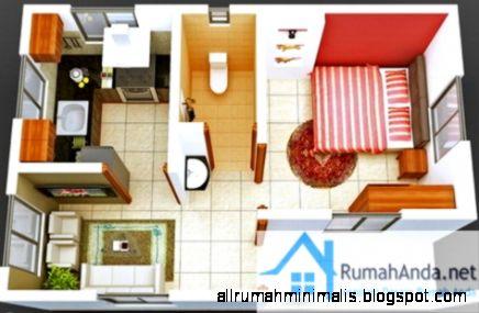 Interior Rumah Minimalis Type 21 | Design Rumah Minimalis