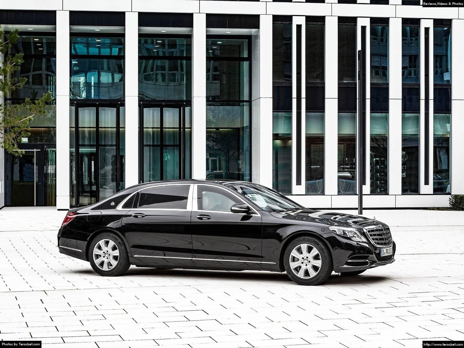 Hình ảnh xe ô tô Mercedes-Benz S600 Maybach Guard 2016 & nội ngoại thất