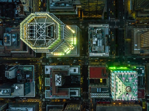 Jeffrey Milstein - NYC | chidas fotos cool stuff - aerial photos of NYC
