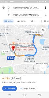 Warih-Homestay-Sri-Cempaka-Kajang-OUM-Bangi-Cuma-6-Minit