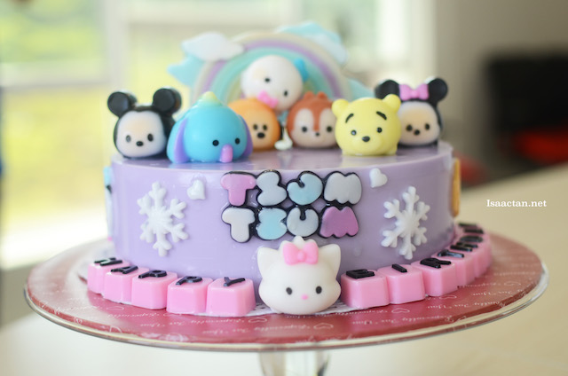 Tsum Tsum Jelly Cake by Jerri Home