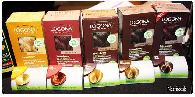 coloration végétale de Logona
