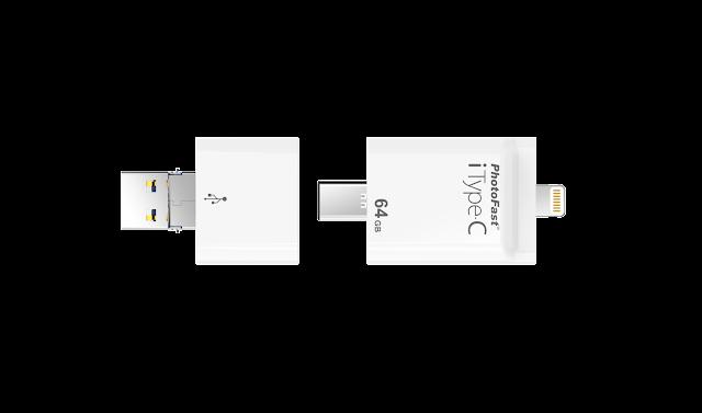 整合了 4 種介面:Lightning、USB Type-C、Micro USB 及 USB Type-A,並且可跨 iOS/Android/PC/MacBook 傳輸備份檔案