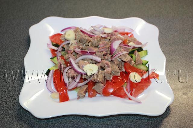 рецепт салата бахор с пошаговыми фото
