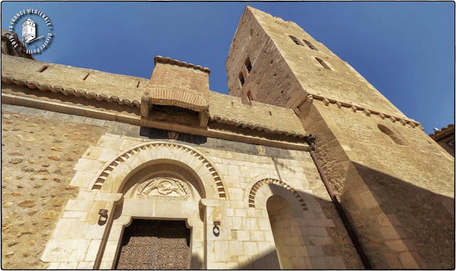 SANT-FELIU d'AMONT (66) - Eglise romane Sainte-Marie