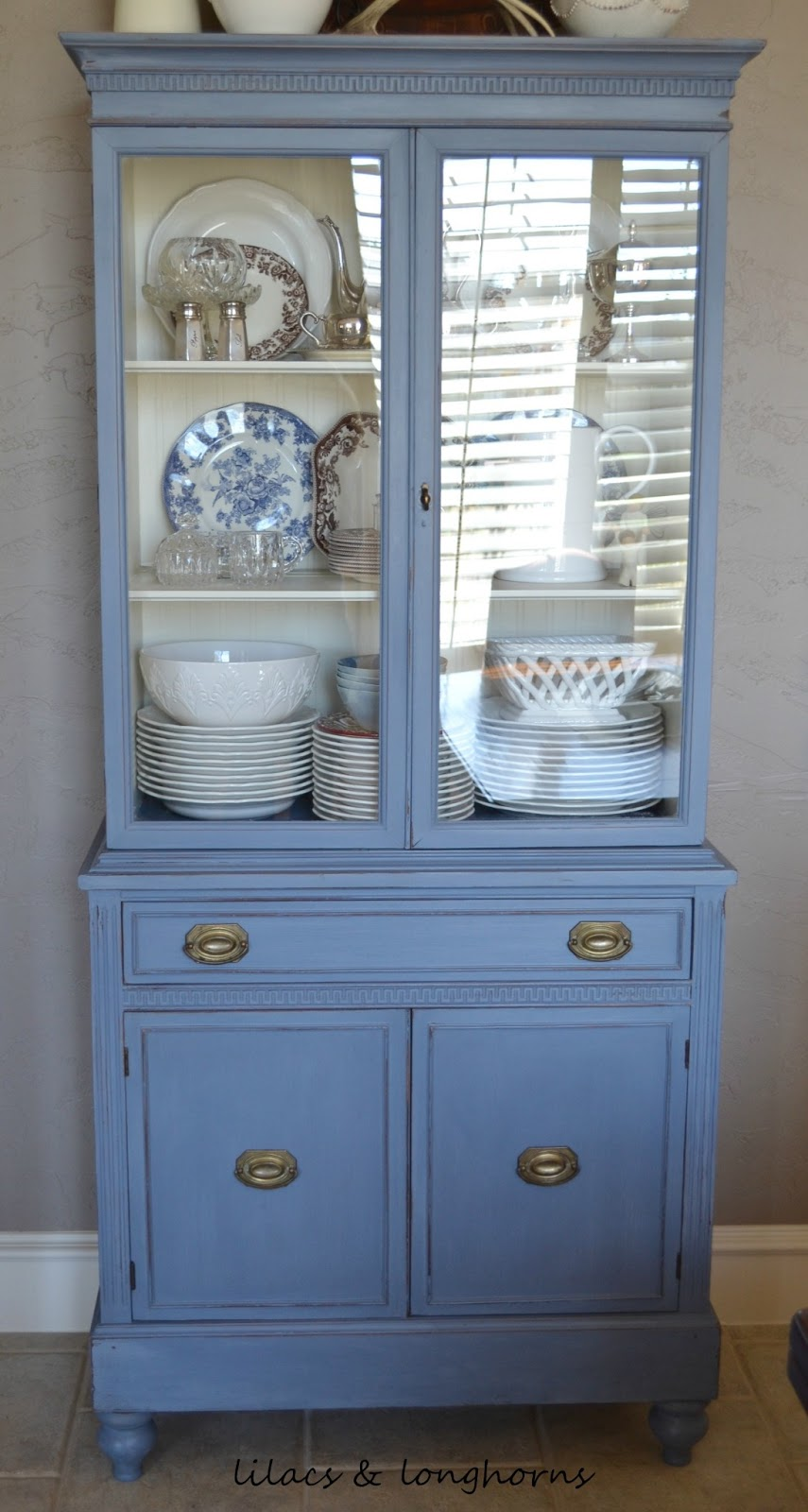 Ikea China Cabinet Makeover