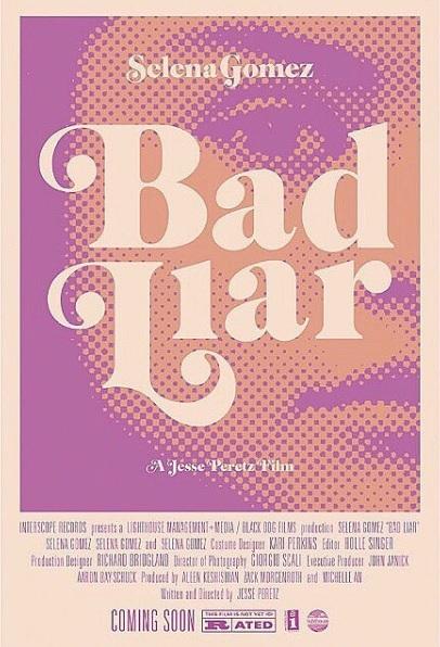 "Poster of ""Bad Liar"" A Jesse Peretz Flim"