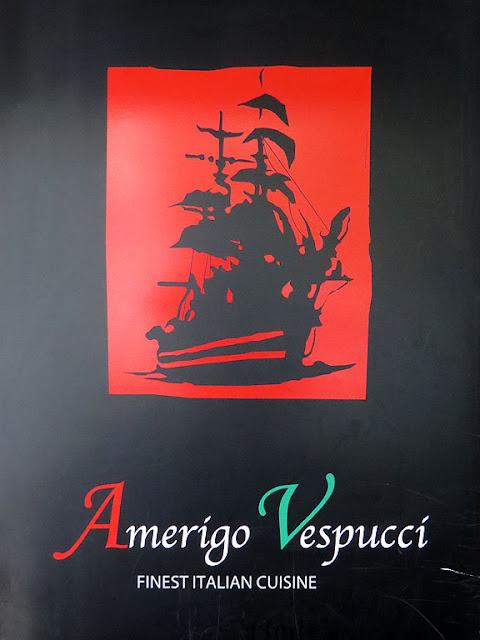 Amerigo Vespucci Italian restaurant, Canary Wharf, London