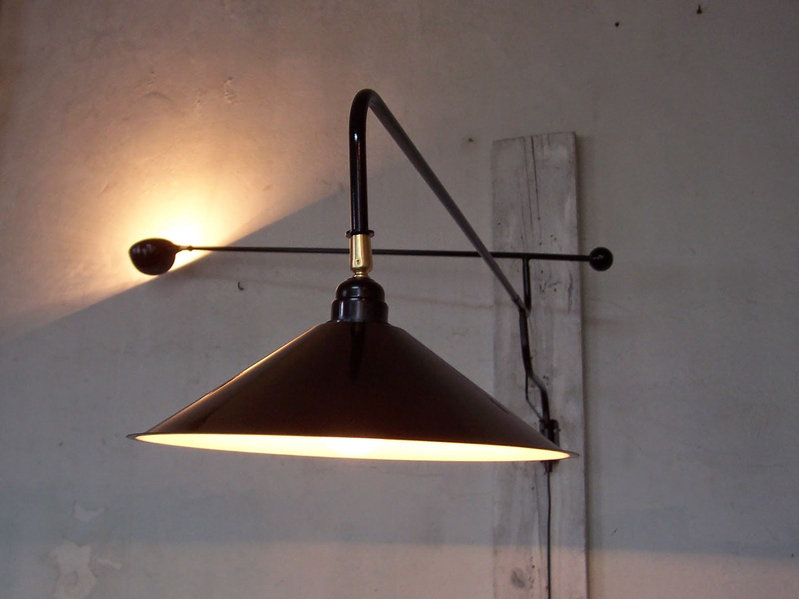 wall lights 2017 lampe potence applique murale design 1950 vintage wall lamp 15. Black Bedroom Furniture Sets. Home Design Ideas