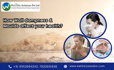Wall dampness and health issues