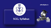 SCCL Fitter Trainee Syllabus