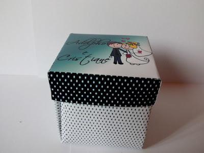 12-convite de casamento personalizado na caixinha