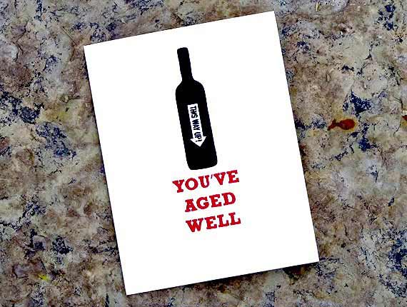 Birthday Card Designs Great For Wine Lovers