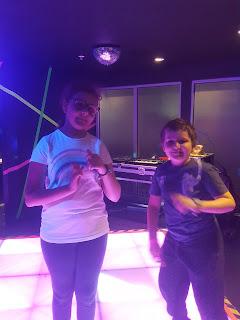 Top Ender and Dan Jon Jr at the Disco at Kidzania