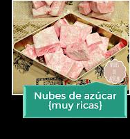 NUBES DE AZÚCAR {MUY RICAS}