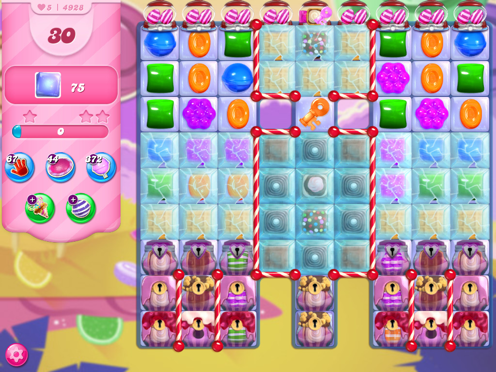 Candy Crush Saga level 4928