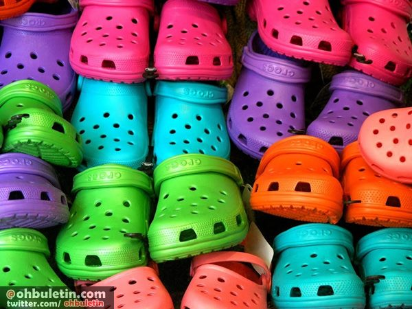 bahaya kasut crocs, kasut crocs