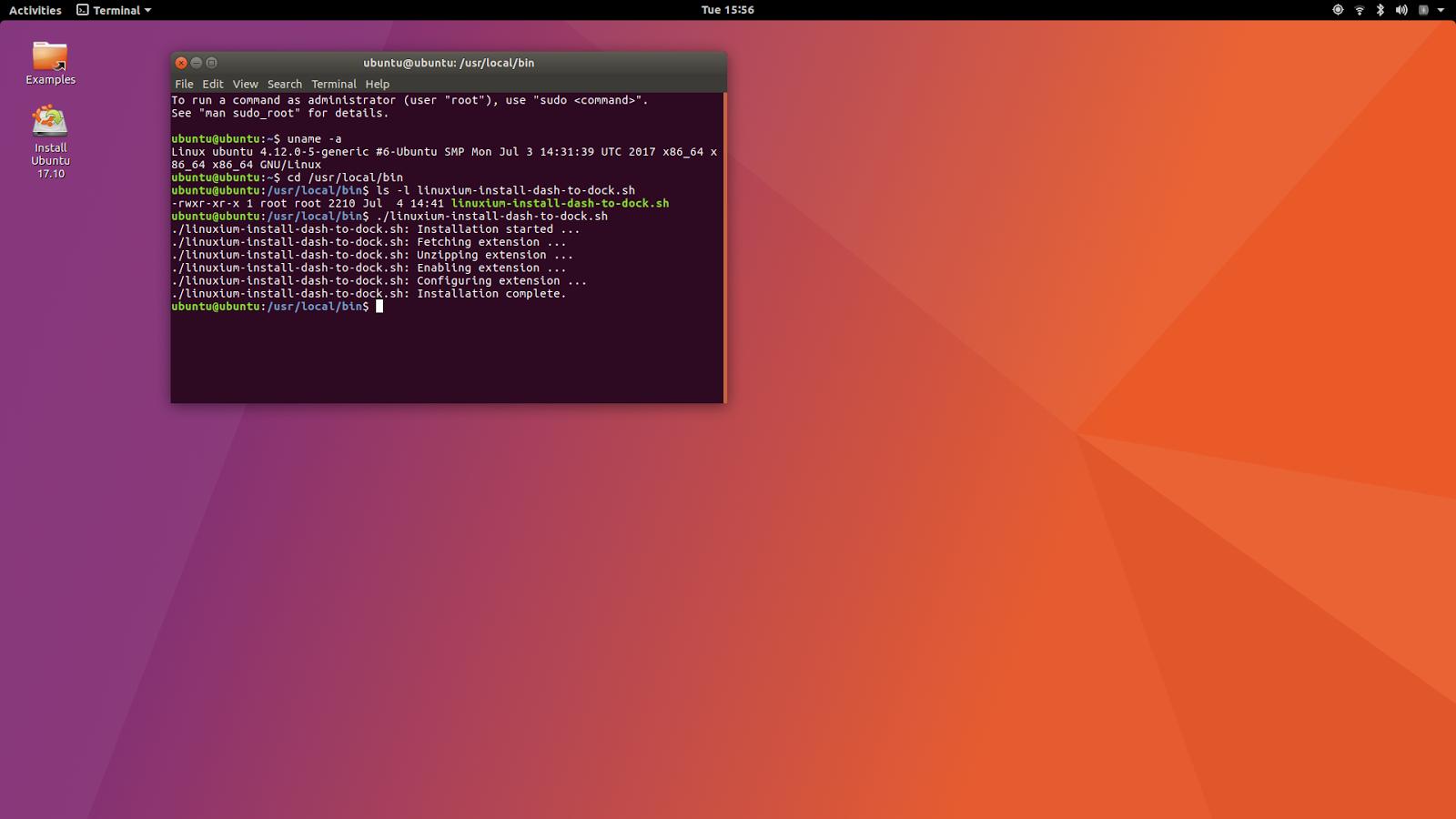 linuxium com au: Fifth look at Ubuntu 17 10: using an 'unstable' kernel