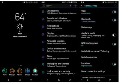 Cara menggunakan dua perangkat Bluetooth sekaligus di Samsung Galaxy S9