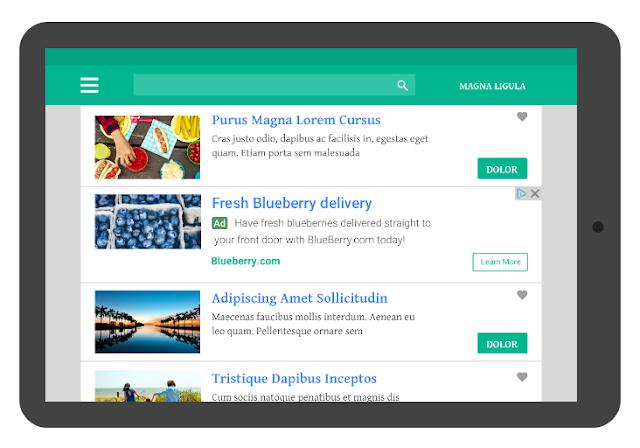Mengenal Unit Iklan In-feed dan In-article ads