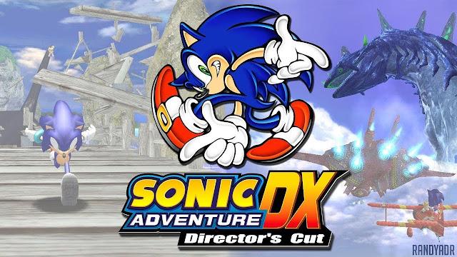 تحميل لعبة سونيك القديمة الاصلية Sonic Adventure DX للكمبيوتر برابط واحد مباشر ميديا فاير مضغوطة مجانا