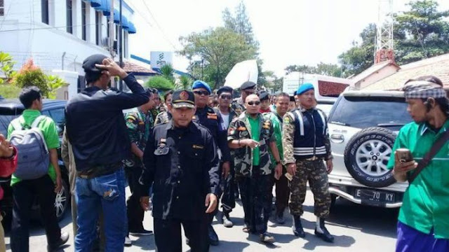 Jika Aparat Tidak Tegas, GP Ansor Kabupaten Cirebon Siap Bubarkan Kegiatan HTI